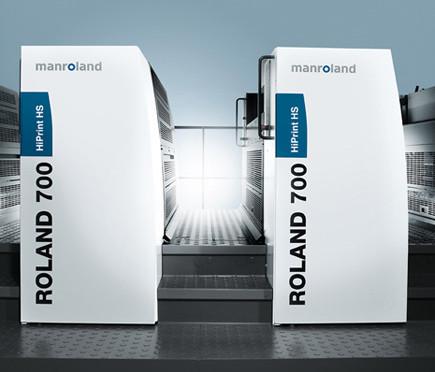 La Roland 700 HiPrint HS arrive en France
