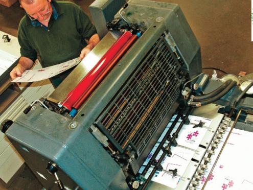 L'imprimerie et le routage avec Activ'Adis
